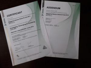 Zorgvilla Spes Nostra behaalt HKZ certificering